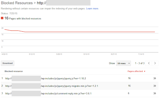 How to Find Blocked CSS & Javascript in Google Search Console