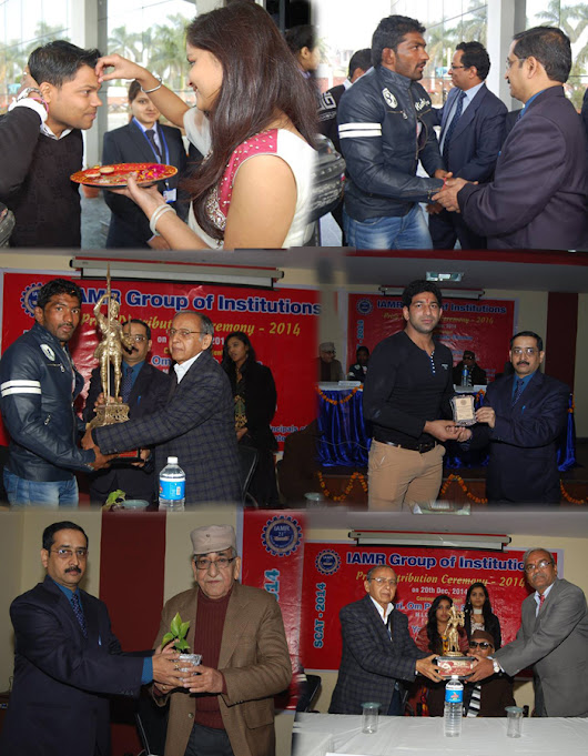 SCAT 2014 Prize Distribution Ceremony — at IAMR Institutions