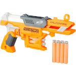 Nerf N-Strike AccuStrike Series FalconFire Blaster, Orange/Grey