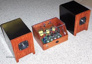K-502 Tube Amp Kit and DelSol Speaker