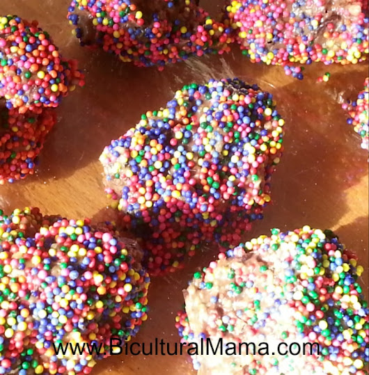 No Bake Chocolate Peanut Butter Balls Recipe | Bicultural Mama