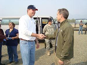 English: Eagle, AK, August 5, 2009 -- FEMA Fed...