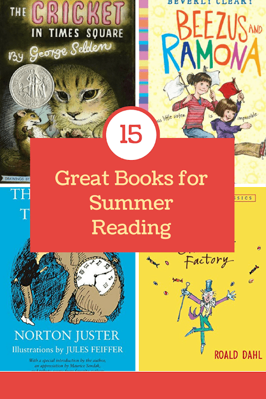 15 Great Books for Summer Reading - Pretty Extraordinary
