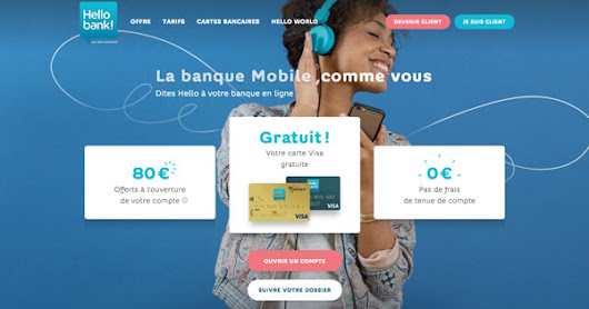 Hello bank! rajoute 110.000 clients en Europe au T1/2018 - M2