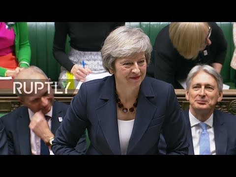 LIVE: May answers PMQs in House of Commons ahead of special Brexit meeting