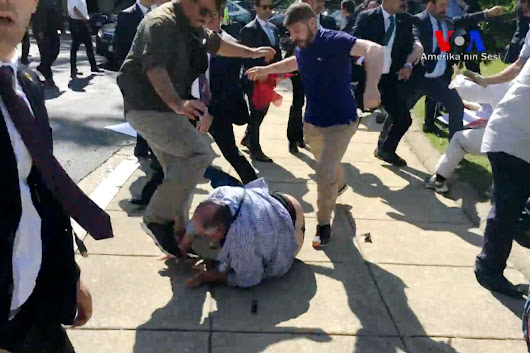 Here's why Turkish bodyguards in bloody D.C. brawl likely won't face repercussions