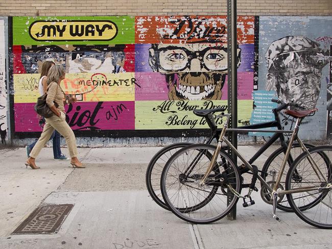 Paste ups, NYC