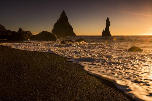 Mar de Vik Islandia