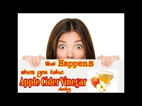What happens when you take Apple Cider Vinegar daily