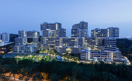 The Interlace by OMA / Ole Scheeren wins the inaugural Urban Habitat Award | Architecture | Wallpaper* Magazine