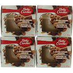 Betty Crocker Scented Candle 4 Pack of 3oz Jars - Salted Caramel Brownie
