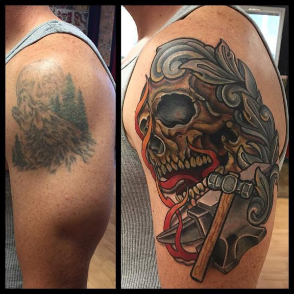 55 Cover Up Tattoos Impressive Before After Photos