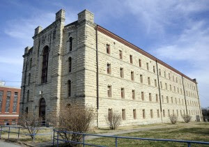 The oldest building on the site, A-Hall, first held inmates in 1868.  The last inmate to be moved from MSP to the Jefferson City Correctional Center walked out its front door in September, 2004.
