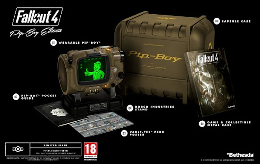 Fallout 4 Pip-Boy Edition Sold Out Nearly Everywhere And Won't Be Restocked