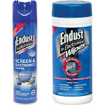 Endust 259000 Anti Static Pop Up Wipes 096000 Multi Surface Electronics Cleaner