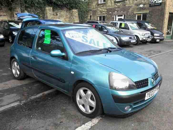 Renault 2003 CLIO DYNAMIQUE 16V BLUE. car for sale