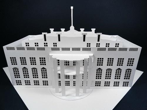 White-House-Paper-Model
