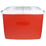 Rubbermaid Cooler 50 qt. Red