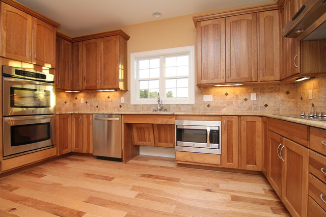 Accessible kitchen cabinets - Traditional - Kitchen ...