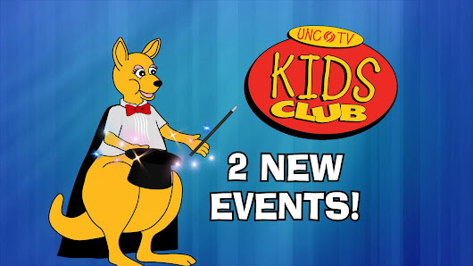 Watch now: JUST FOR KIDS | Two NEW Exciting Events for the UNC-TV Kids Club!  | UNC-TV Video