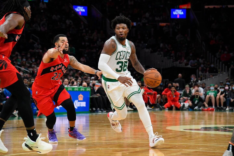 Celtics suspend G Marcus Smart for Friday's preseason game vs. Heat