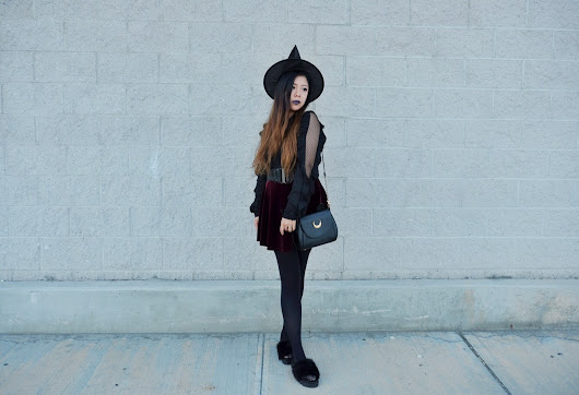 Fashionable Witch Look for Halloween - SINCERELY OPHELIA