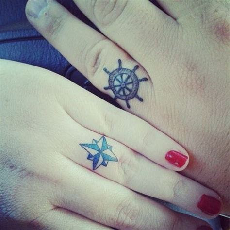40  Sweet & Meaningful Wedding Ring Tattoos
