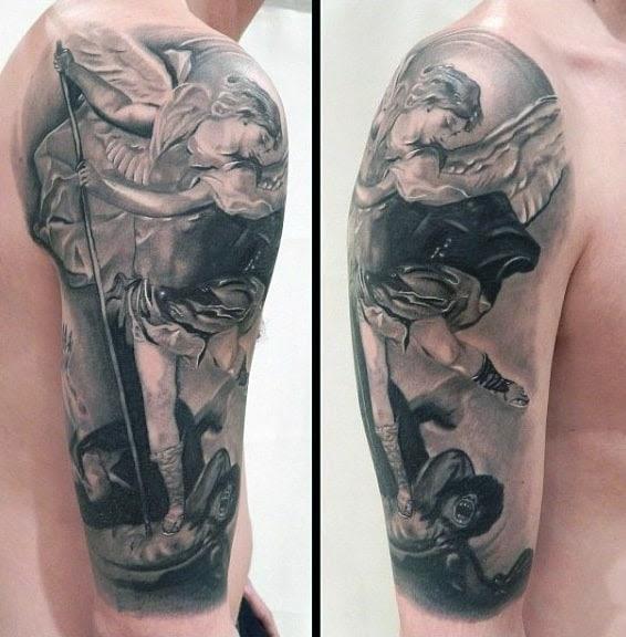 Tattoo Design Tattoo Saint Michael