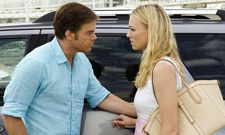 Dexter Morgan and Hannah McKay in the Dexter finale