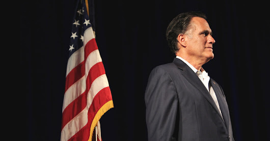 Mitt Romney Won't Run in 2016 Presidential Election - NYTimes.com