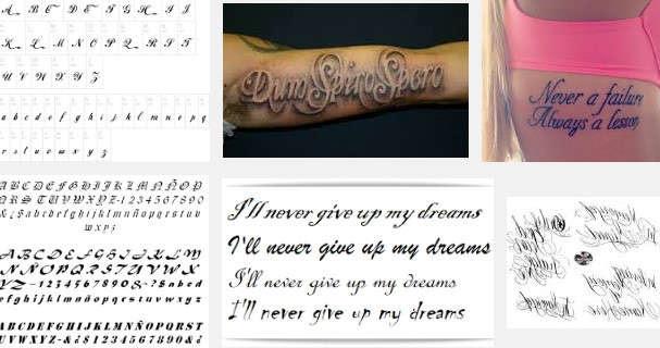 Estilos De Letras Para Tatuajes Estilos Decom