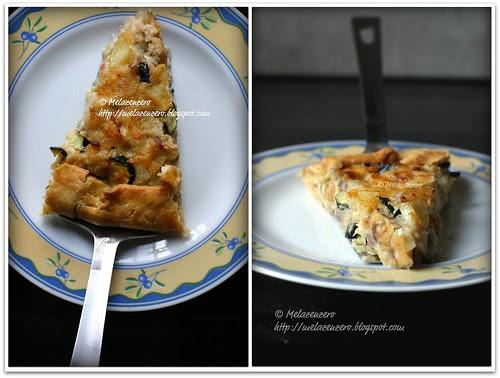 pasticcio di pesce persico e verdure