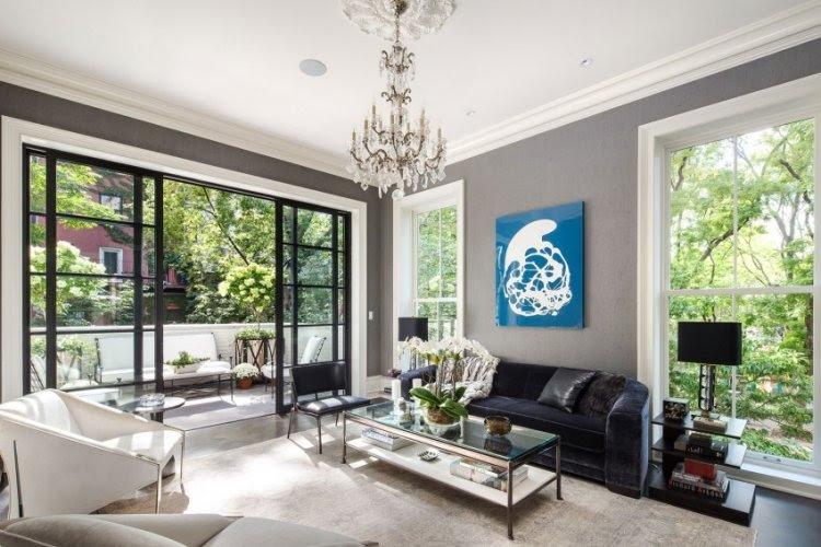 Neoklassisches Interior Design eines Penthouses in New York