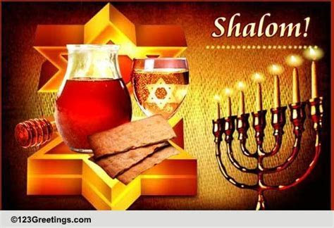 Shalom! Free Happy Passover eCards, Greeting Cards   123