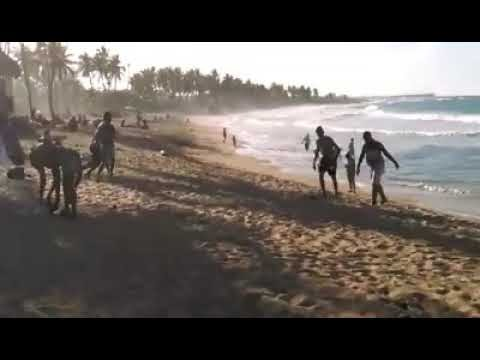 Playa  Macao una de las pocas playas que no ha sido invadida por hoteleros