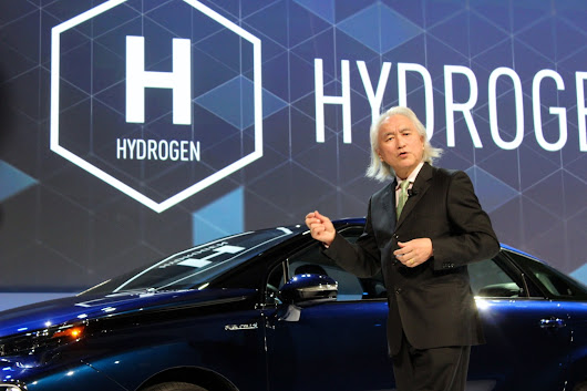 Here's why this expert physicist thinks Toyota's hydrogen fuel-cell car is 'perfect' - GeekWire