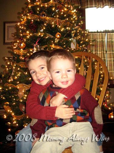 2008 Christmas card photo