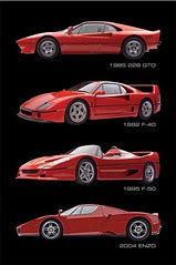 Ferrari - Modern Classics Cars, Vehicles, Motors, Modern, New, Vintage, FX777222999