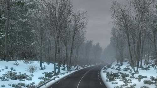 Frosty Winter Weather Mod v7.0 | ETS2 Mods