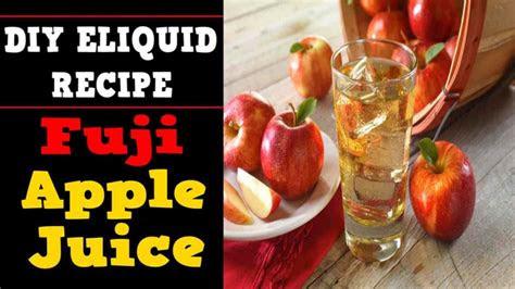 simple fuji apple juice diy eliquid recipe vgcrisp