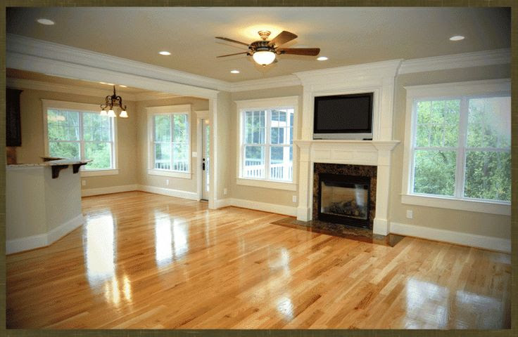 Wall Color with Oak Floor | Fresh Rustic Craftsman Home ...