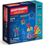 Magformers 60-Piece Creator Building Set