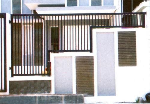 15 Model Pagar Rumah Minimalis Sederhana