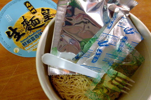 Instant noodles from Hong Kong