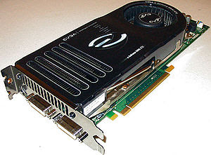 English: GeForce 8800 GTX photo. Taken by uplo...