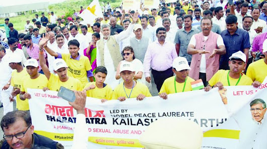 Kailash Satyarthi asks leaders to support hurt schoolkids