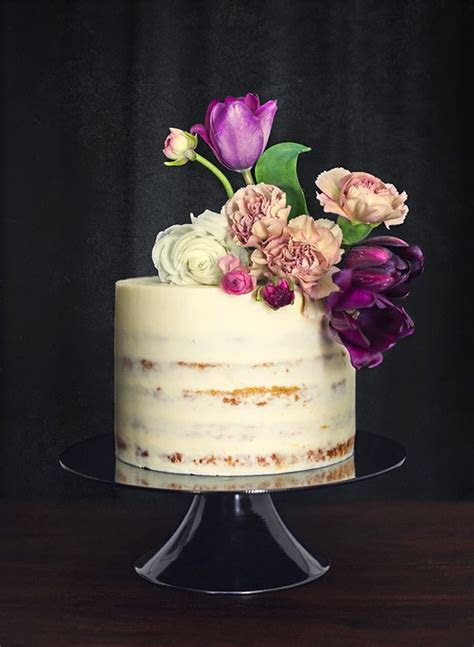 409 best Naked cakes images on Pinterest   Pretty cakes