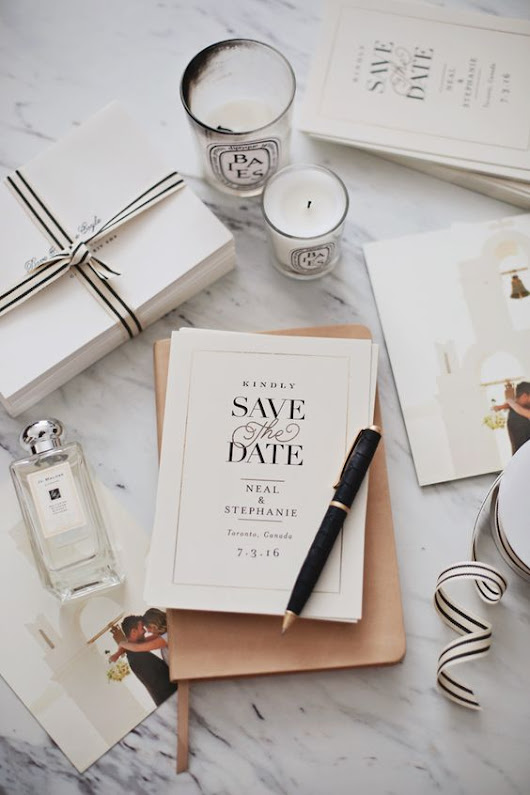 3 KEY REASONS WHY A SAVE THE DATE IS AN ABSOLUTE MUST | It Girl Weddings