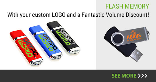 Flash Memory with Custom LOGO!