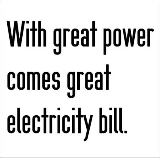 Great Power Comes With - Geeky Stuff